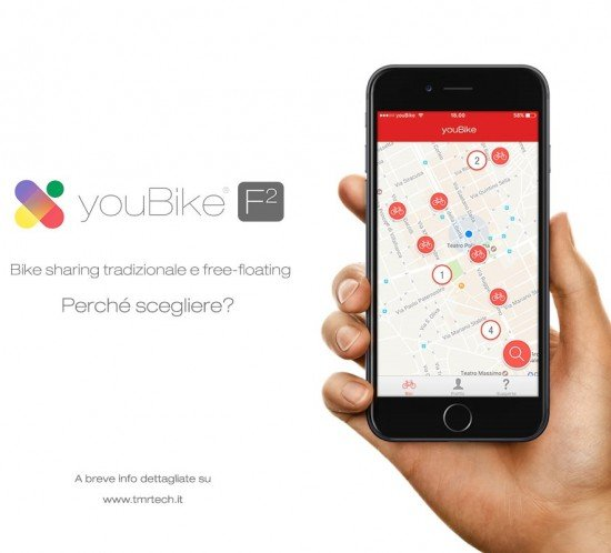 youBike F2 - Bike Sharing Free Floating